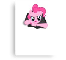 PINKIE PIE AND ZE FOURTH WALL Canvas Print