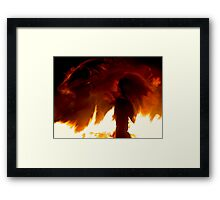Fire Spirits Framed Print