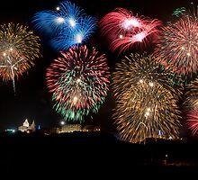 Mellieha Fireworks Malta 2012 by Chris Muscat