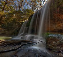 Unnamed Falls. by Warren  Patten