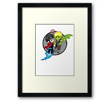 Wiccan and Hulkling Framed Print