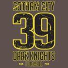 Gotham City Dark Knights Football by mysundown