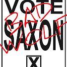 Vote Saxon! by stephisinsanity