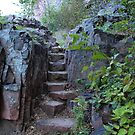 Rock Stairway by Scott Hendricks