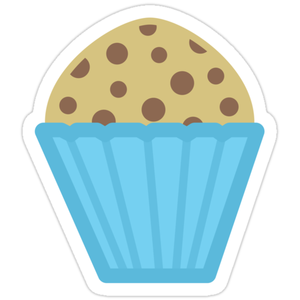 Chocolate Chip Muffin by Louise Parton