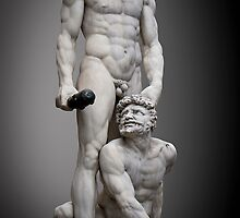 Hercules and Cacus by Roverguybm