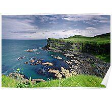 Antrim Coastline Poster