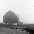Barn in Fog by Harry Snowden