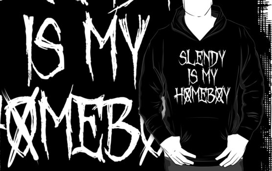 SLENDY IS MY HOMEBOY by nadievastore