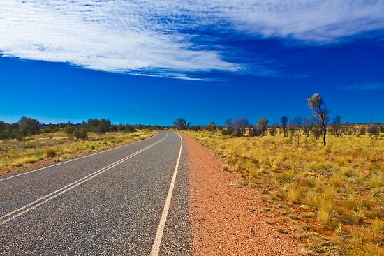 Outback Highway by Dean Cunningham