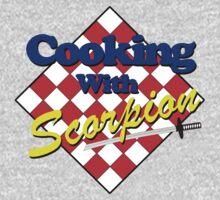 Mortal Kombat - Cooking with Scorpion by metacortex