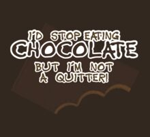 Can't Stop Eating Chocolate by ezcreative