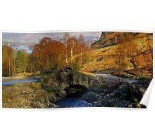 Ashness Bridge  Lake District Poster