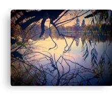 Autumn Tones, Lake Weeroona Canvas Print