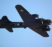 Boeing B-17 Flying Fortress by Andy Jordan