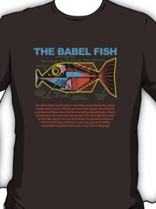 Hitchhikers Guide to the Galaxy - Babel FIsh T-Shirt