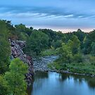 Cloudy Sunrise Over Split Rock Creek by Scott Hendricks