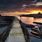 St Monan's Sunset by Steve Jensen