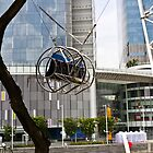 The seat of the G-max Reverse Bungee at the Clarke Quay in Singapore by ashishagarwal74