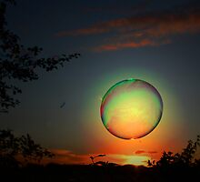 FLY ME TO THE MOON ON A BUBBLE by leonie7