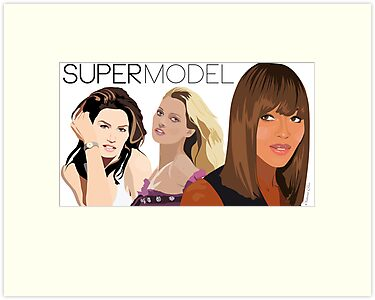 Super Models by Victoria Ellis
