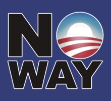 No Way Obama 2012 by adamcampen