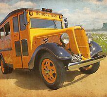 1936 School Bus  -  The Bumpy Ride by flyrod
