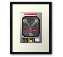 The Flux Capacitor Framed Print
