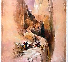 Ascent to the Summit of Sinai by Dennis Melling