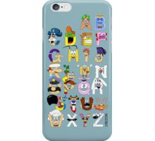 Breakfast Mascot Alphabet iPhone Case/Skin