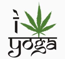 I Marijuana Yoga by MarijuanaTshirt