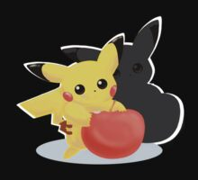 Pikachu & Berry by Raymond Lo