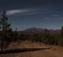 Elder Range in Moonlight by pablosvista2