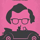 No147 My Annie Hall minimal movie poster by Chungkong