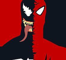 Spider-Man/Venom by VinnyLiverpool
