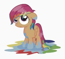 Scootaloo Wanna Be Rainbow Dash  by eeveemastermind