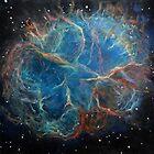 Crab Nebula by Alizey Khan