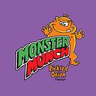 Monster Munch iPhone Case by gezzamondo