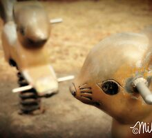 Squirrelly Ride (Playground Series) by milkayphoto
