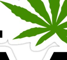 I Love Arizona Marijuana Cannabis Weed T-Shirt Sticker