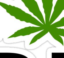 I Love Rhode Island Marijuana Cannabis Weed T-Shirt Sticker
