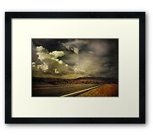 Been Down This Road Before Framed Print