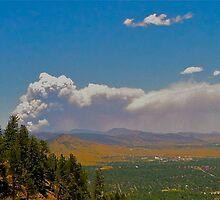 Wildfire in Colorado by GabrielleFrank