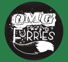 OMG F*#king Furries (Sticker Version) by Zhivago