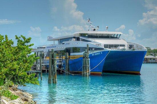 Bahamas Ferry at Potter's Cay - Nassau, The Bahamas by 242Digital