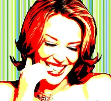 Kylie Minogue - Love at First Sight - Pop Art by wcsmack