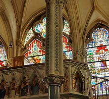 Interior - Carmelite Church by CreativeUrge
