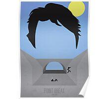 Minimalist Point Break Poster - Johnny Utah Poster
