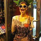 Bizarre Mannequin Outside A Store on 42nd Street by Jane Neill-Hancock