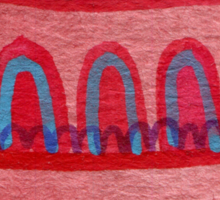 La Casa Rosada Sticker
